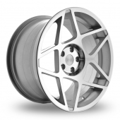 Image for ThreeSDM 0_08_5x120_Low_Wider_Rear Silver_Polished Alloy Wheels