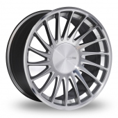 Image for ThreeSDM 0_04_5x120_Wider_Rear Silver_Polished Alloy Wheels