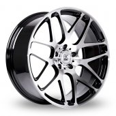 Image for BK_Racing 170 Black_Polished Alloy Wheels