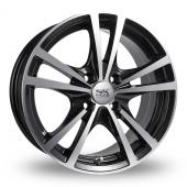 Image for BK_Racing 182 Black_Polished Alloy Wheels