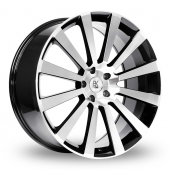Image for BK_Racing 660 Black_Polished Alloy Wheels