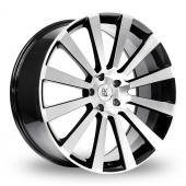Image for BK_Racing 660 Black_Polished Alloy Wheels