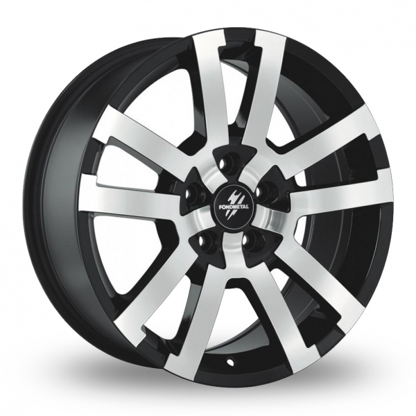 Zoom Fondmetal 7700-1 Black_Polished Alloys