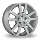 Image for Fondmetal 7700-1 Silver Alloy Wheels