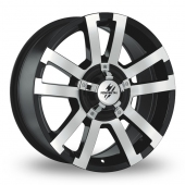 Image for Fondmetal 7700_Off_Road Black_Polished Alloy Wheels