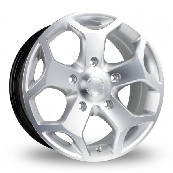 Zoom BK_Racing 954 Silver_Polished Alloys