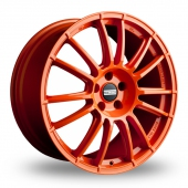 Image for Fondmetal 9RR Orange Alloy Wheels