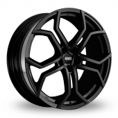 Image for Fondmetal 9XR Black Alloy Wheels