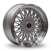 Image for Samurai RS Silver_Polished_Lip Alloy Wheels