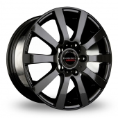 Image for CW_(by_Borbet) C2C Black Alloy Wheels