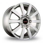 Image for CW_(by_Borbet) C2C Silver Alloy Wheels
