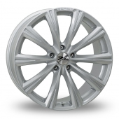 Image for Zito CRS Silver Alloy Wheels
