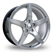 Image for Riva DBZ Hyper_Silver Alloy Wheels