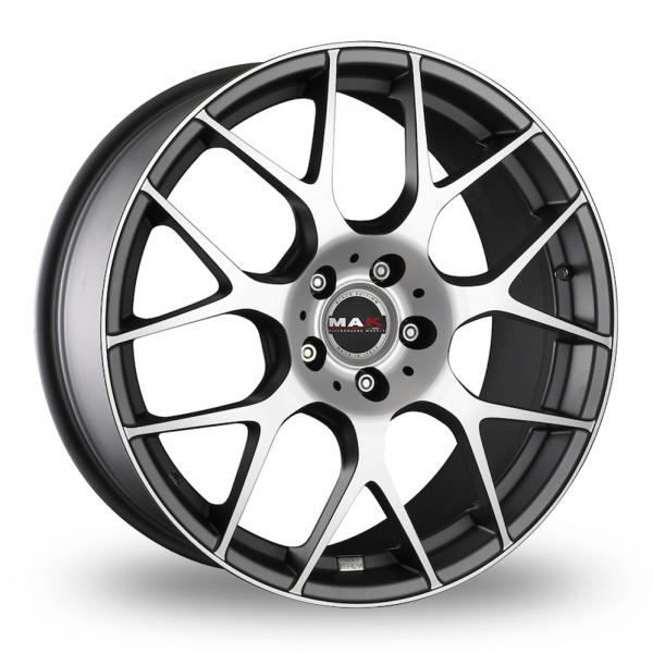 Zoom MAK DTM_One Anthracite_Polished Alloys