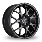Image for MAK DTM_One Matt_Black Alloy Wheels