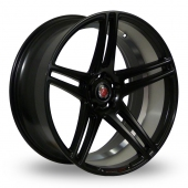 Image for Axe EX12_Wider_Rear Matt_Black Alloy Wheels