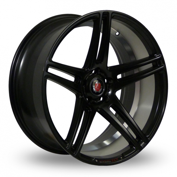Zoom Axe EX12_Wider_Rear Matt_Black Alloys