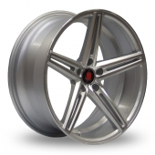 Image for Axe EX14_5x112_Wider_Rear Silver_Polished Alloy Wheels