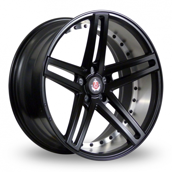 Zoom Axe EX20_5x120_Low_Wider_Rear Matt_Black Alloys