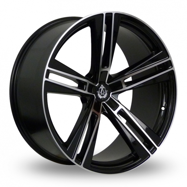 Zoom Axe EX21_Wider_Rear Black_Polished Alloys