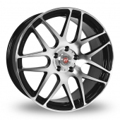 Image for Calibre Exile Black_Polished Alloy Wheels
