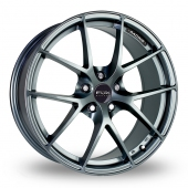 Image for Fox_Racing FX005 Grey Alloy Wheels
