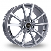 Image for Fox_Racing FX10 Hyper_Silver Alloy Wheels