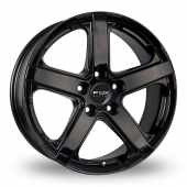 Image for Fox_Racing Viper Black Alloy Wheels
