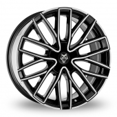 Image for Wolfrace Wolf_Design_GTP Black_Polished Alloy Wheels