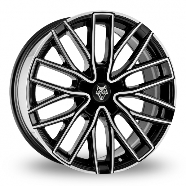 Zoom Wolfrace Wolf_Design_GTP Black_Polished Alloys