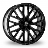 Image for Wolfrace Wolf_Design_GTP Black Alloy Wheels