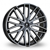 Image for Wolfrace Wolf_Design_GTP Matt_Black Alloy Wheels