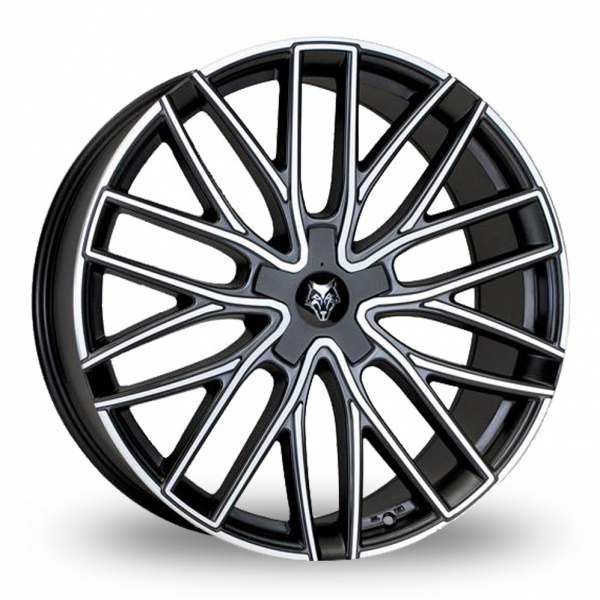 Zoom Wolfrace Wolf_Design_GTP Matt_Black Alloys