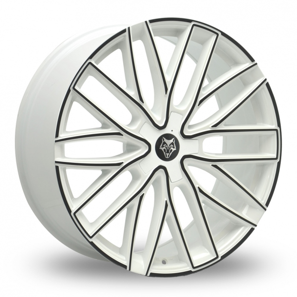 Zoom Wolfrace Wolf_Design_GTP White_Black Alloys