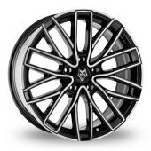 Image for Wolfrace Wolf_Design_GTR Black_Polished Alloy Wheels