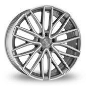 Image for Wolfrace Wolf_Design_GTR Gun_Metal_Polished Alloy Wheels