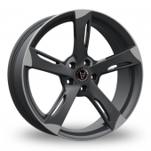 Image for Wolfrace Genesis Gun_Metal_Polished Alloy Wheels