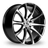 Image for Zito MDL Black_Polished Alloy Wheels