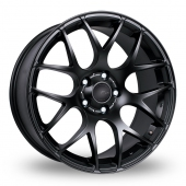 Image for Fox_Racing MS007 Matt_Black Alloy Wheels