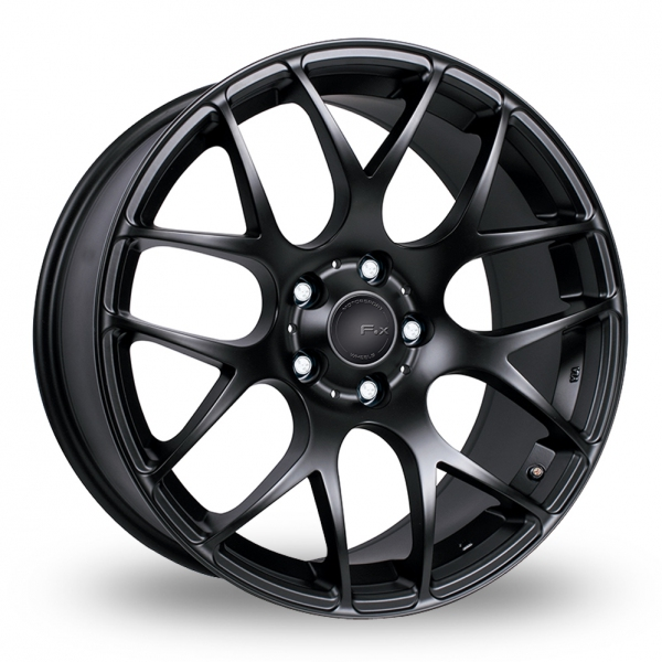 Zoom Fox_Racing MS007 Matt_Black Alloys