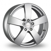 Image for MAK Bee_SUV Silver Alloy Wheels