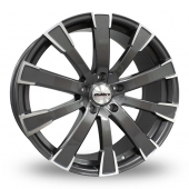Image for Calibre Manhattan Gun_Metal_Polished Alloy Wheels
