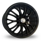 Image for Zito Miracle Matt_Black Alloy Wheels