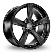 Image for OZ_Racing Montecarlo_HLT Matt_Black Alloy Wheels