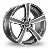 Image for OZ_Racing Montecarlo_HLT Graphite Alloy Wheels