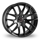 Image for Wolfrace Munich Black Alloy Wheels