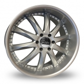 Image for Zito Prizm Silver Alloy Wheels