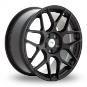 Image for Dare River_R-3 Matt_Black Alloy Wheels