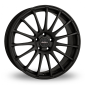 Image for Calibre Rapide_5x120_Wider_Rear Matt_Black Alloy Wheels