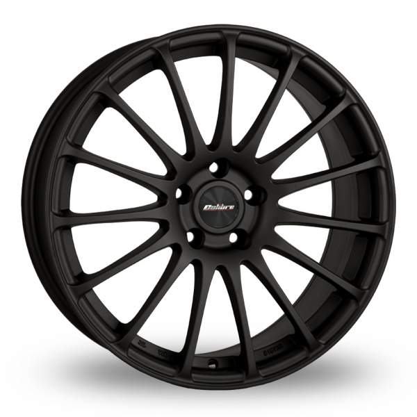 Zoom Calibre Rapide_5x120_Wider_Rear Matt_Black Alloys